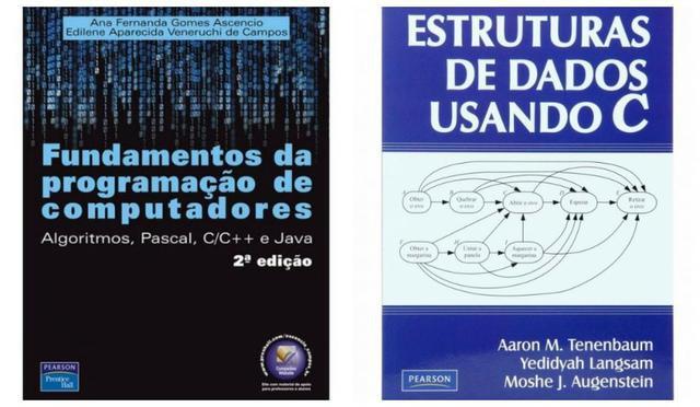 2 livros estrutura dados usando c e fundamento de
