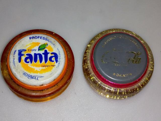 Antigo ioiô profissional russell coca e fanta