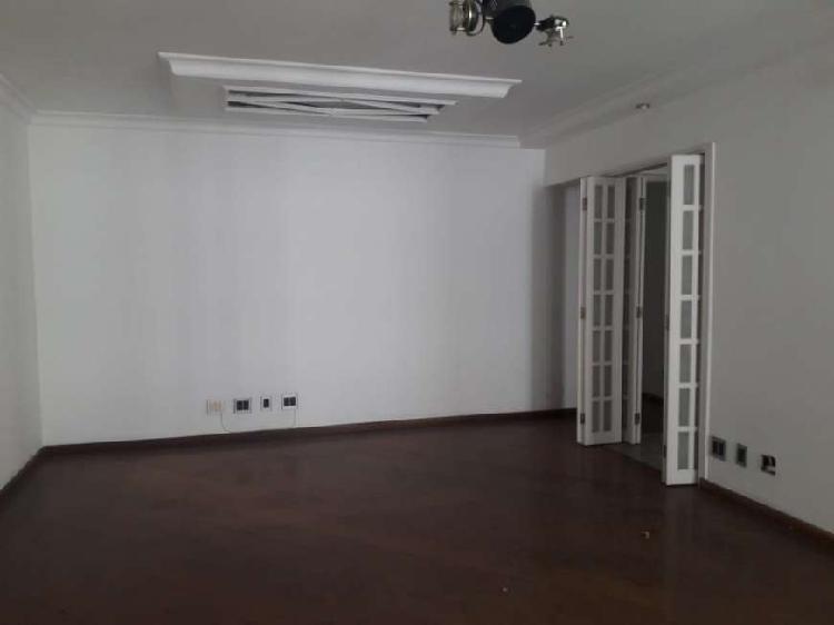 Apartamento para aluguel tem 140m2 - 4 dormitórios,sendo 1