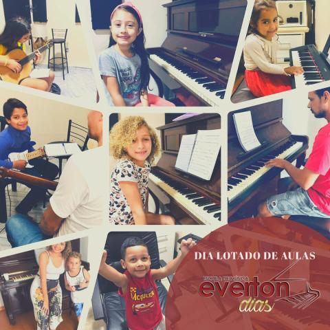 Aulas de música e musicalização infantil