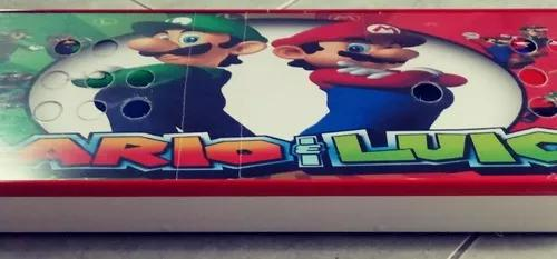 Caixa para controle arcade adesivado com acrilico 90cm
