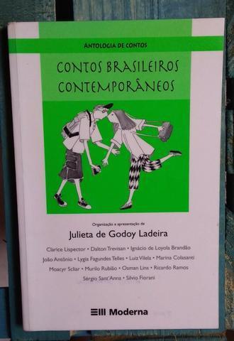 """Livro """"contos brasileiros contemporâneos"""""""
