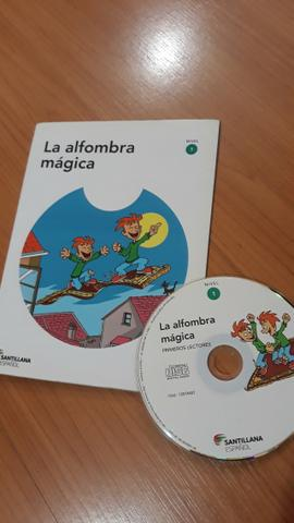Livro la alfombra mágica (espanhol)