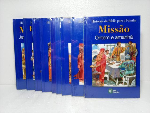 Livros histórias da bíblia para a família 30 volumes