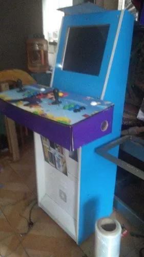 Maquina de fliperama multijogos retrô pandora 1500 arcade