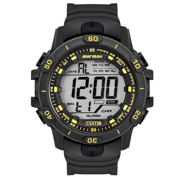 Relógio mormaii masculino acqua prata mo3690aa/8y