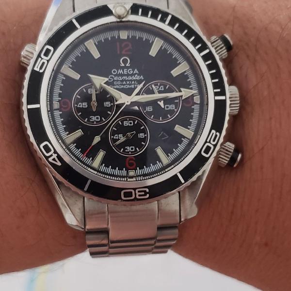 Relógio omega seamaster co axial aaa