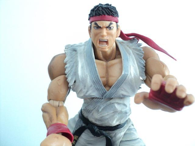Ryu. original play arts, capcom, colecionadores