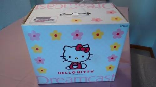 Sega dreamcast hello kitty completo