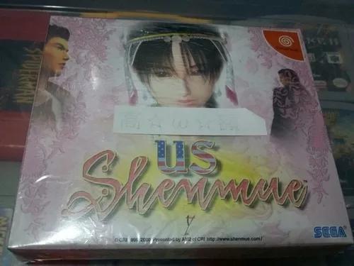 Shenmue us original lacrado - sega dreamcast