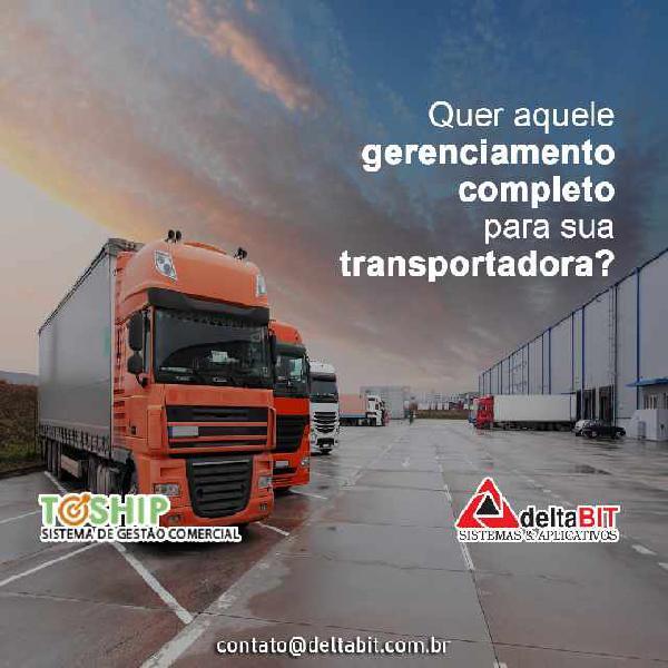 Toship - sistema para gestão comercial