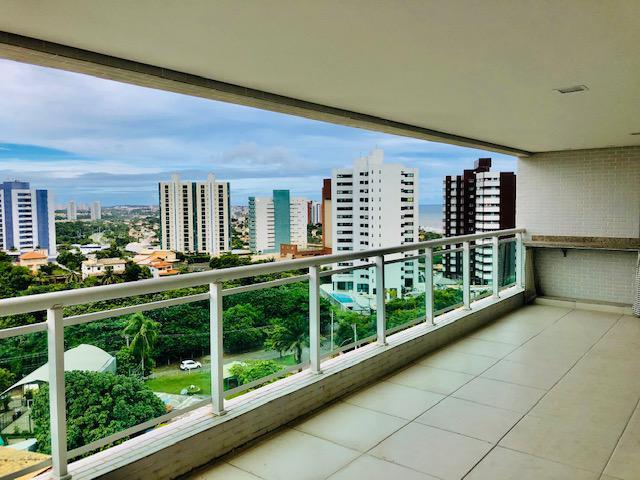 Vendo apartamento 140m² patamares 3 suítes com varanda