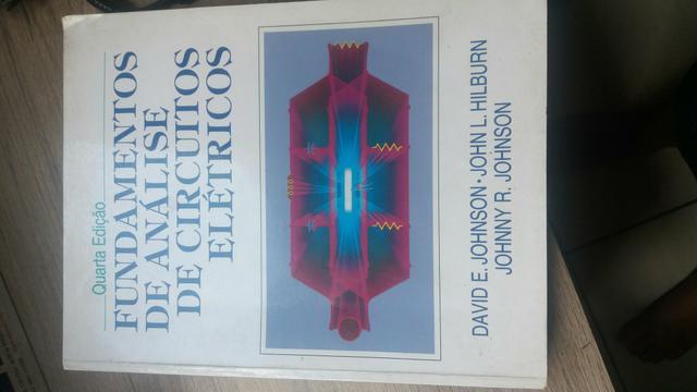 Vendo livro de circuitos elétricos para engenharia