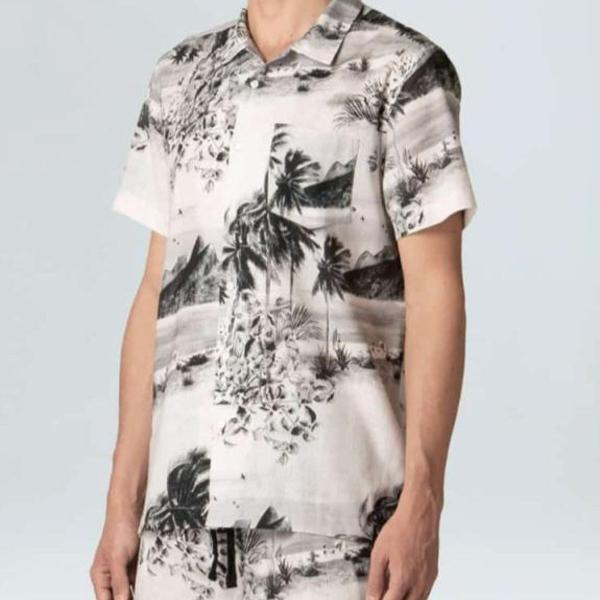 Camisa osklen manga curta p