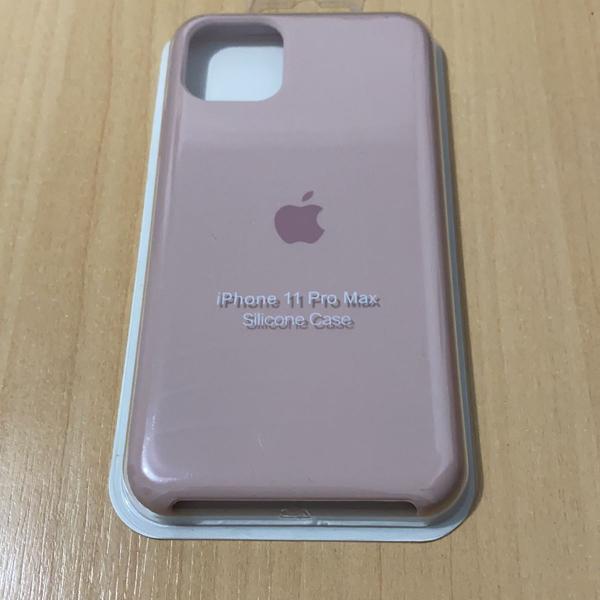 Case silicone iphone 11 pro max rosa bebê