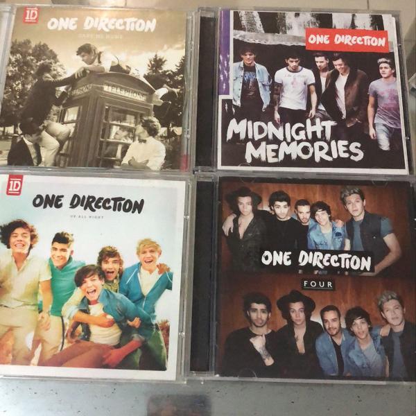 Coleção cds one direction