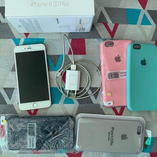 Iphone 6s plus 128gb usado