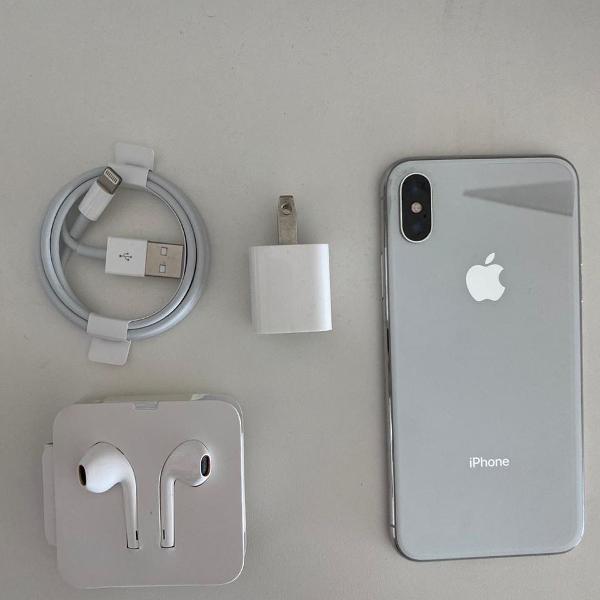 iphone x - 256 gb