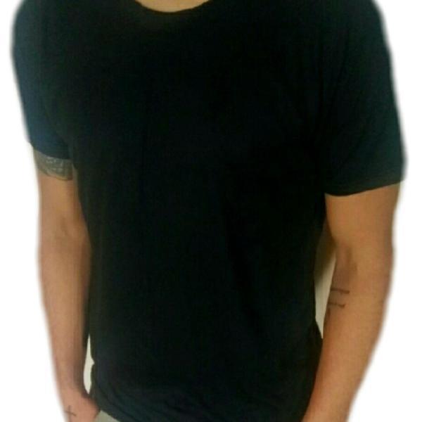 Kit 3 camisetas masculina basicas lisa