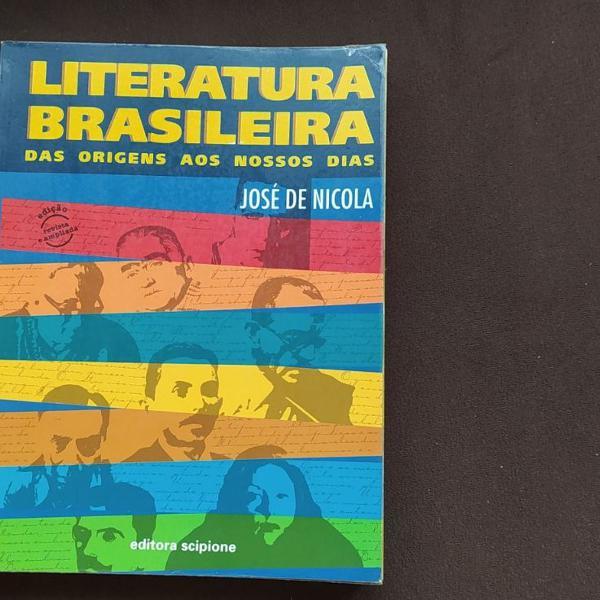 Livro literatura brasileira das origens aos nossos dias