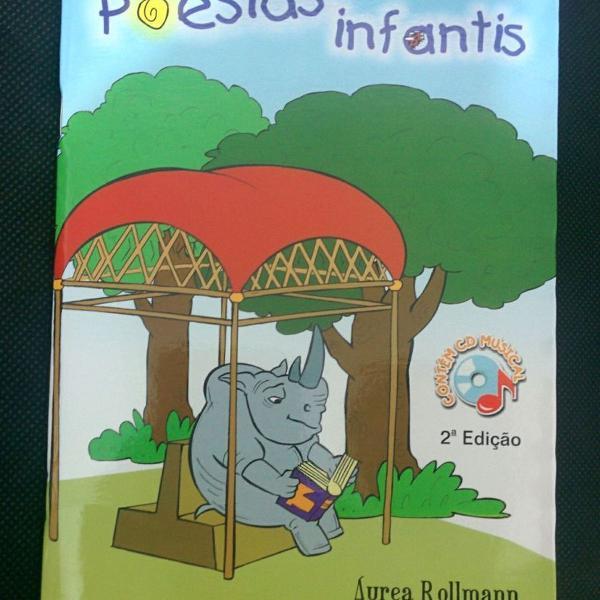 Livro poesias infantis