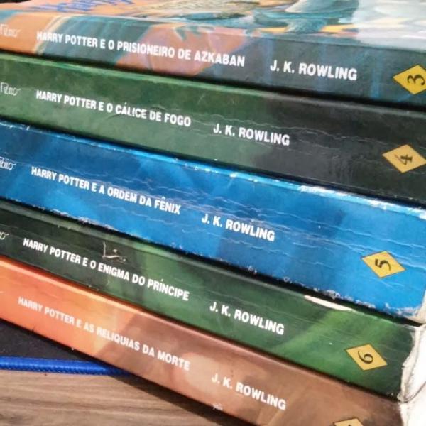 Livros harry potter primeira edição