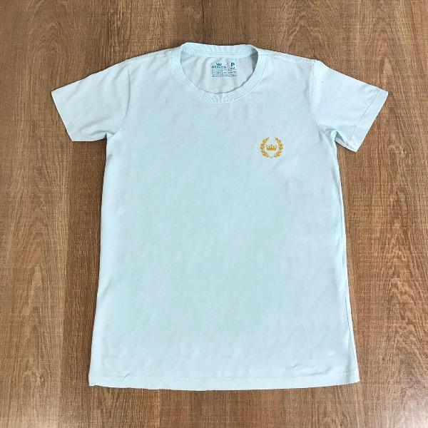 Osklen camiseta masculina lisa com logo