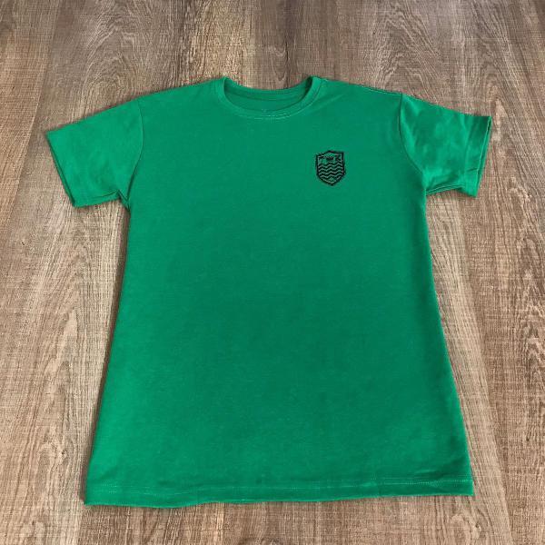 Osklen camiseta masculina malhão frente lisa com estampa