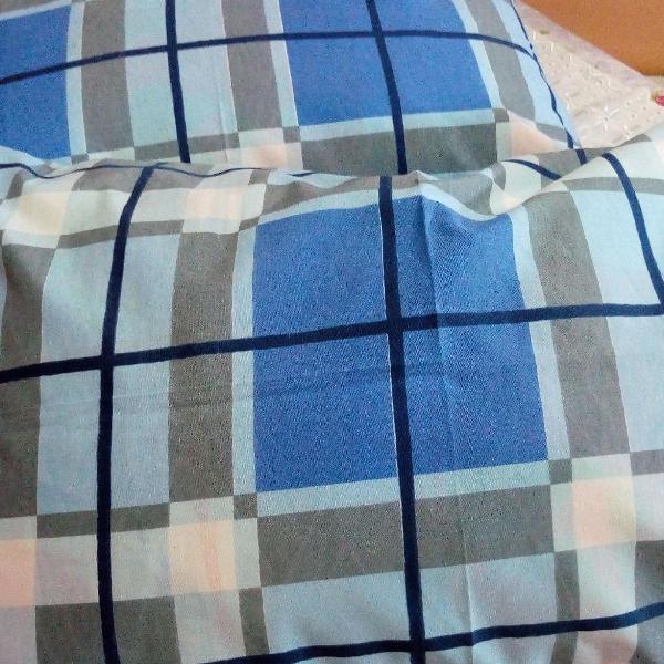Capa de travesseiro.