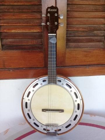 Cavaquinho - cavaco banjo rozini com captador de contato e