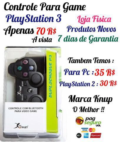 Controle para ps3 / controle para playstation 3 (estamos