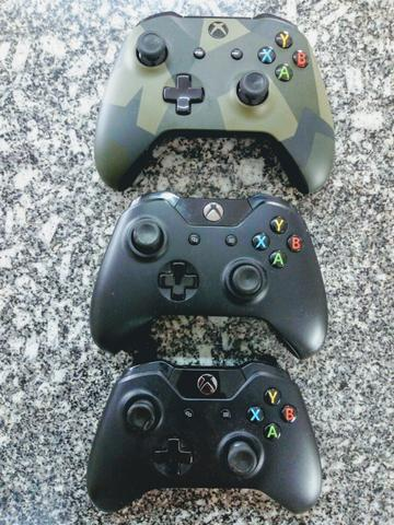 Controles originais xbox one