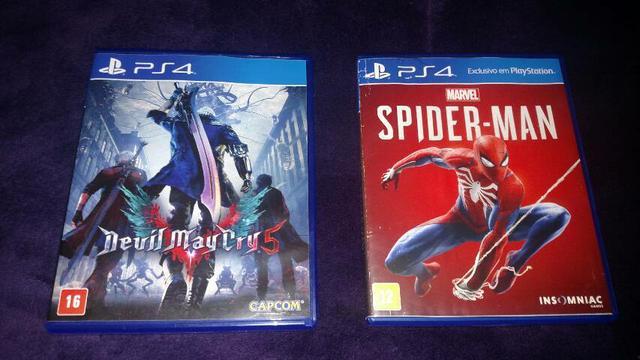 Devil may cry 5 e homem aranha troco sekiro