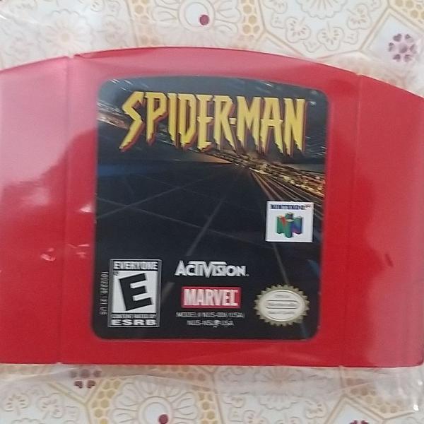 Fita SPIDER-MAN RED em ótimo estado de conservação