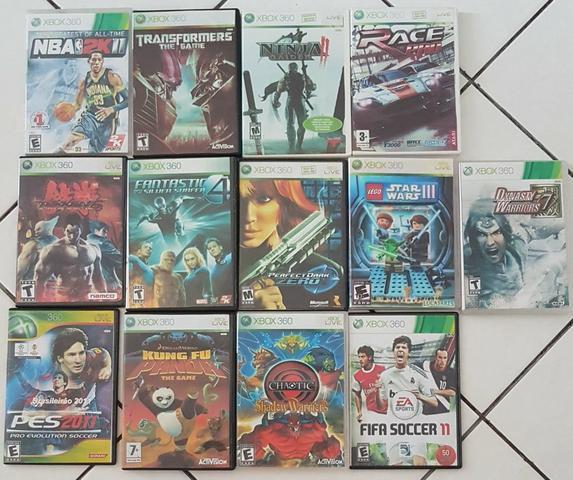 Jogos xbox360 vários