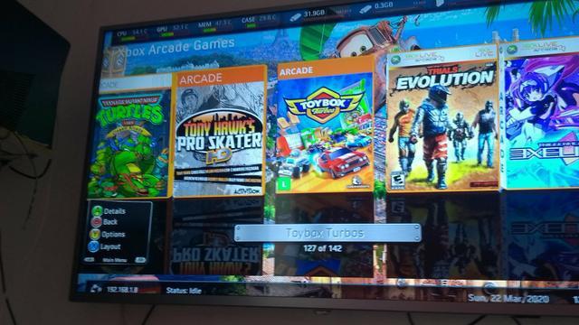 Jogos de xbox arcade
