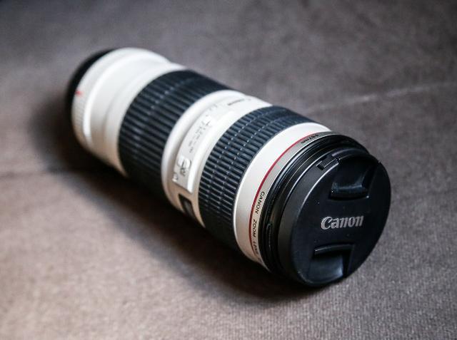 Lente canon 70-200mm f/4l usm