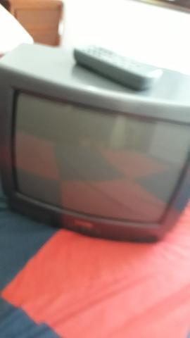 Tv cce 14 poleg com suporte de parede!