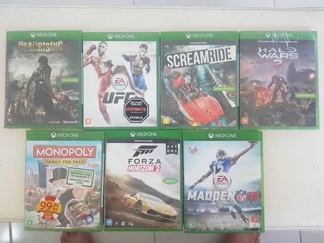 Xbox one pacotão quarentena
