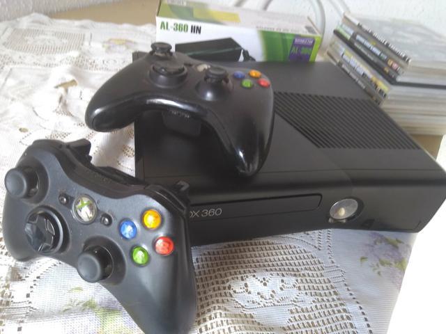Xbox360 slim desbloqueado - passo cartão