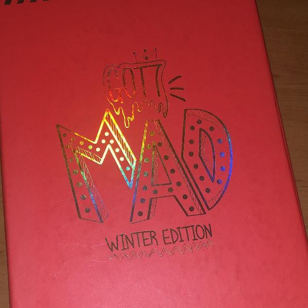Album kpop got7 mad winter version completo novinho com tudo