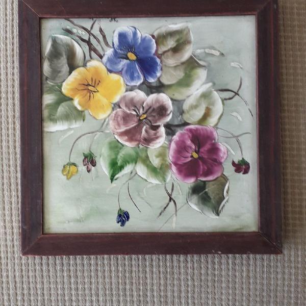 Azulejos decorativos pintados a mão
