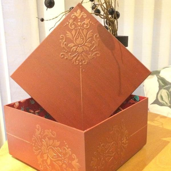 Caixa mdf decorada