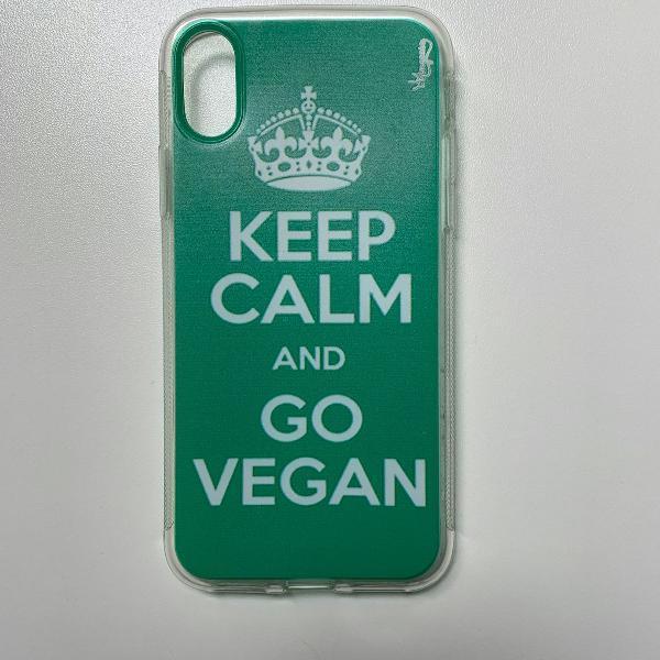Capinha de iphone xs - vegan