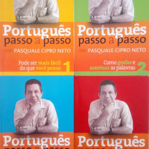 Coleção de livros português passo a passo