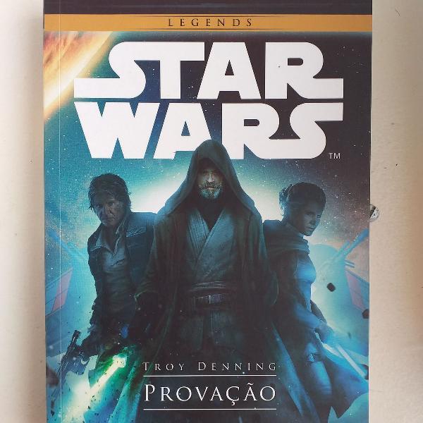 Coleção de livros star wars