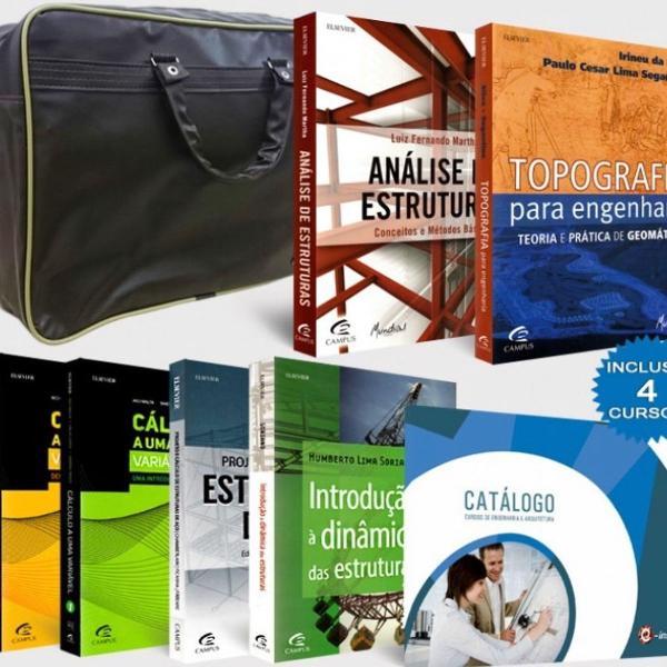 Coleção livros engenharia civil mundial editora