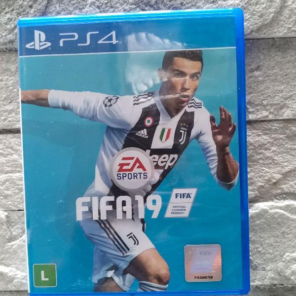 Jogo ps4 fifa 2019