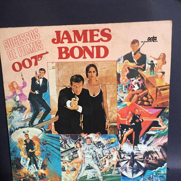 Lp original melhores músicas james bond 007 (1981)