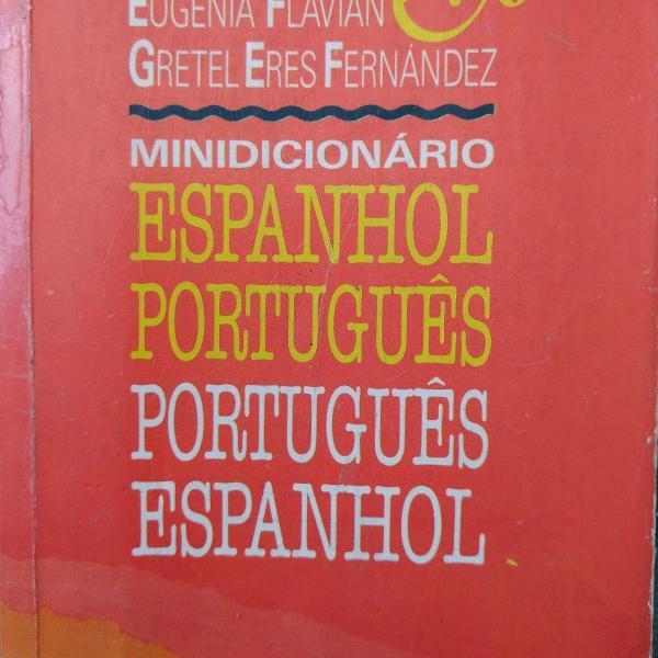 Minidicionário espanhol/português